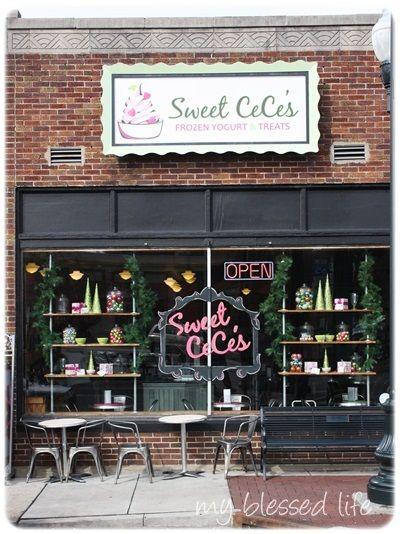 Sweet CeCe's! The best frozen yogurt around.