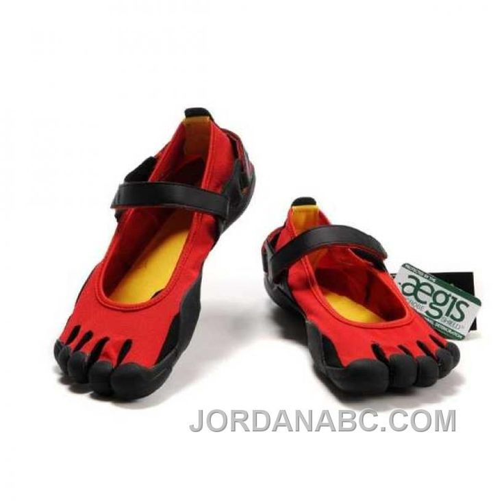 Now Buy Vibram Sprint Mens Red Black 5 Five Fingers Sneakers Hot Save Up  From Outlet Store at Footlocker.