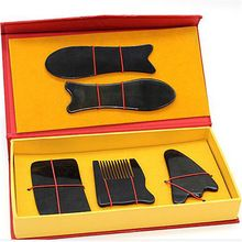 Natural horn scraping board ox horn massage guasha board beauty face Scrapping plate //Price: $US $17.80 & FREE Shipping //
