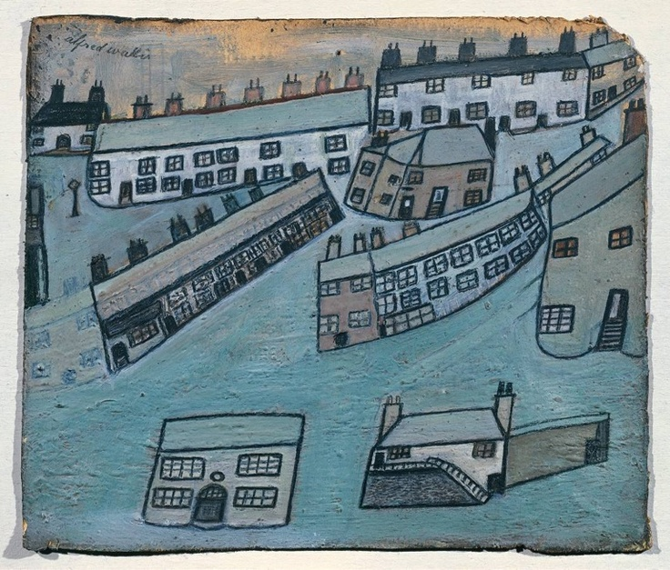 Houses At St Ives, Alfred Wallis