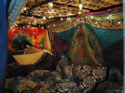 Fort Good Vibrations | 19 Blanket Forts You'll Want To Hibernate In