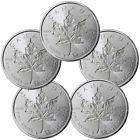 Lot of 5 -2018 Canada 1 oz Silver Maple Leaf Incuse $5 Coins BU PRESALE SKU52128 Buy now! #mapleleaf #silverleaf #silvercoins