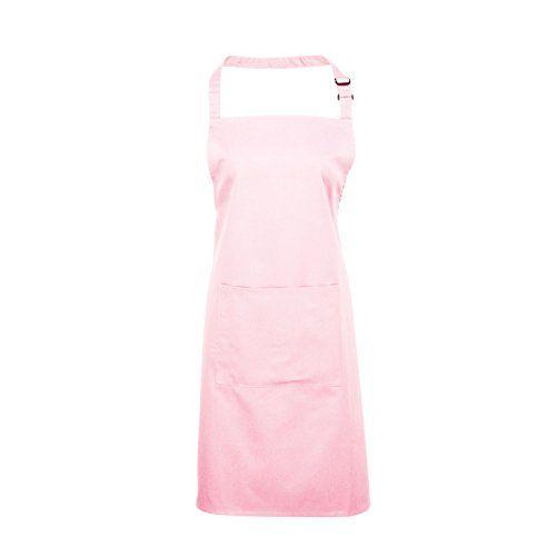 (37 forskellige farver) Adults/Unisex Plain Polycotton Bib Apron With Pocket - Various Colours Available (Pink) Premier Workwear http://www.amazon.co.uk/dp/B00NU4ADJ6/ref=cm_sw_r_pi_dp_WZ2Vwb02JXE1Y