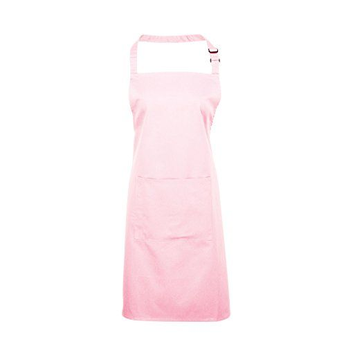 (37 forskellige farver) Adults/Unisex Plain Polycotton Bib Apron With Pocket - Various Colours Available (Pink) Premier Workwear http://www.amazon.co.uk/dp/B00NU4ADJ6/ref=cm_sw_r_pi_dp_WZ2Vwb02JXE1Y