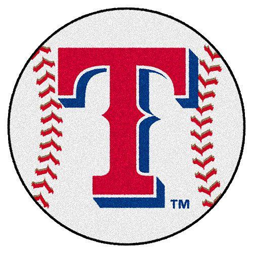 Texas Rangers Baseball Mat