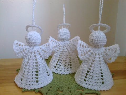 Angel en Crochet : Las Alas - YouTube
