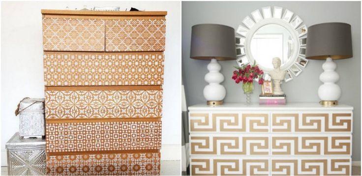 transformer un meuble ikea la commode malm deco. Black Bedroom Furniture Sets. Home Design Ideas