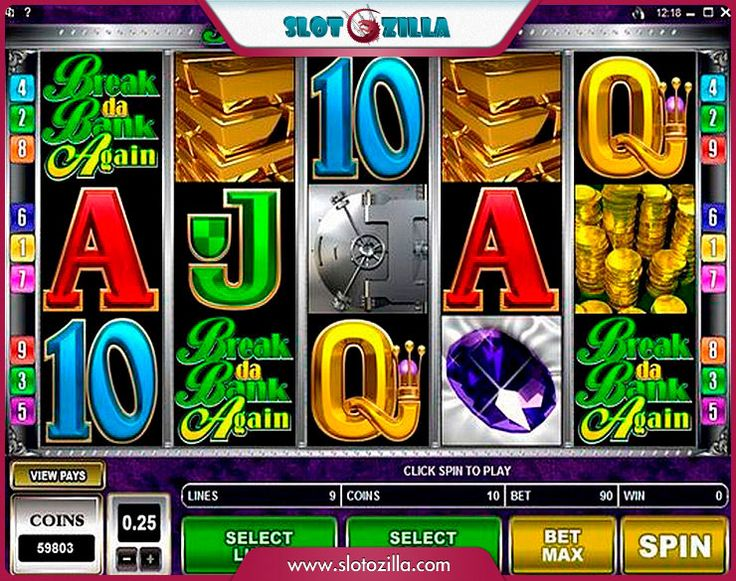 Break Da Bank Again free #slot_machine #game presented by www.Slotozilla.com - World's biggest source of #free_slots where you can play slots for fun, free of charge, instantly online (no download or registration required) . So, spin some reels at Slotozilla! Break Da Bank Again slots direct link: http://www.slotozilla.com/free-slots/break-da-bank