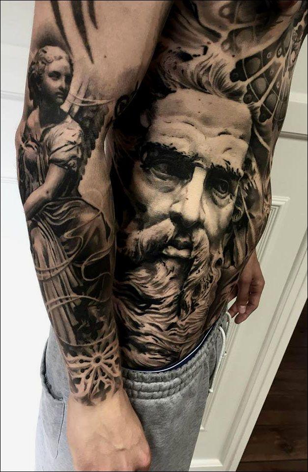 mark wosgerau artist denmark tattoo ideas pinterest