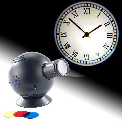 Projektionsuhr mit Farbfiltern - Alte Bahnhofsuhr