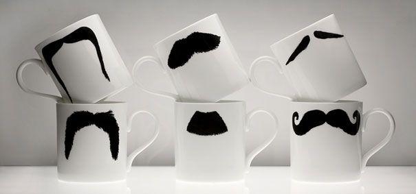 Clever coffee mugs