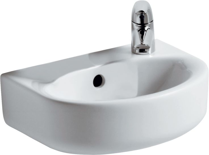 Ideal Standard Connect Arc fontein 35 x 26 cm Wit