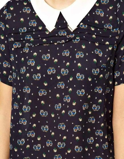Рубашка с совами