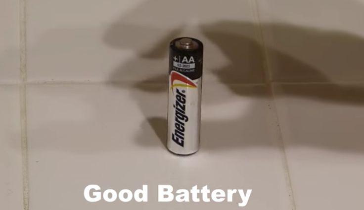 WOW: met deze tip check je of je batterijen leeg zijn of niet! Dit is geniaal!