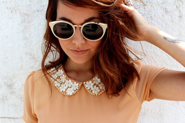 Embellished collars are adorable. I'm not sure I could pull it off though.