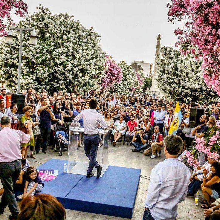 #carlosalvemini #amministrative2017 #portanapoli #lecce #instagood