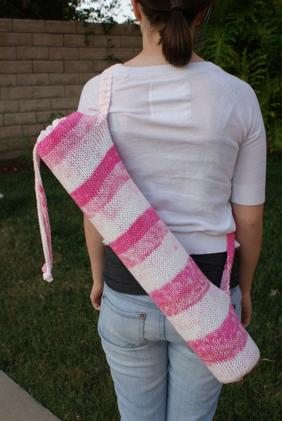 Free Knitting Pattern Yoga Mat Bag : 17 Best images about yoga mat on Pinterest Free pattern, Yoga bag pattern a...