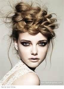 runway hair - Bing Images