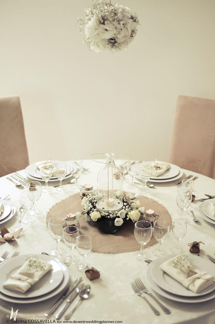 Les 20 meilleures id es de la cat gorie table blanche sur pinterest - Decoration table champetre jardin la rochelle ...