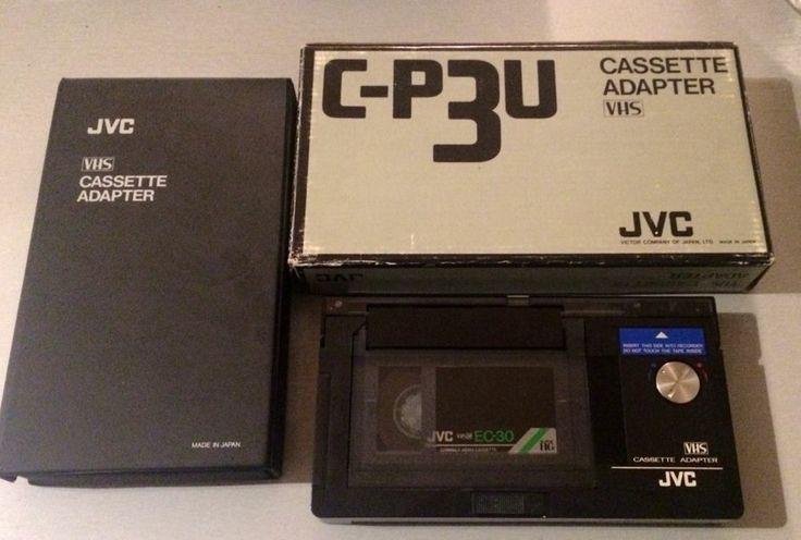 JVC VHS CASSETTE ADAPTER - C-P3U