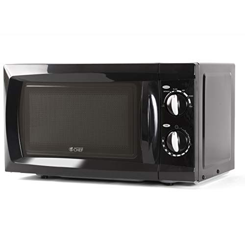 Commercial Chef Chm660b Countertop Counter Top Microwave 0 6 Cu Ft Black Compact Microwave Oven Compact Microwave Microwave Oven