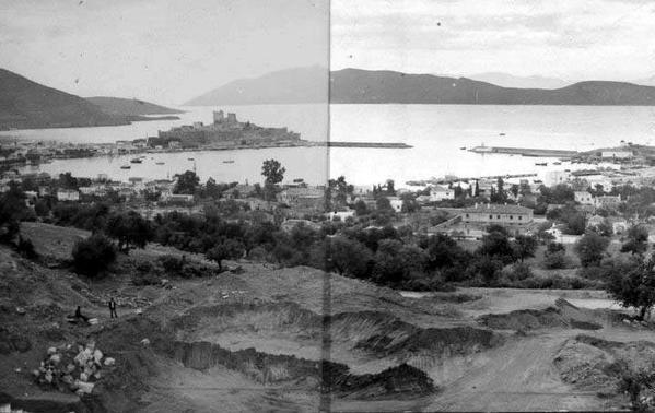 1850'li yıllarda Bodrum