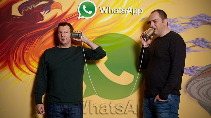 Brian Acton, an American computer programmer and Internet entrepreneur and Jan Koum (Ukrainian: Ян Кум,) CEO, are the founders of WhatsApp, a mobile messaging application which was acquired by Facebook Inc. in February 2014 for US$19 Billion. #whatsapp #facebook #socialmedia  #online #internet #people #technology #entrepreneur #app #founder