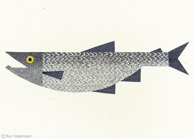 Salmon by Ryo Takemasa, via Flickr