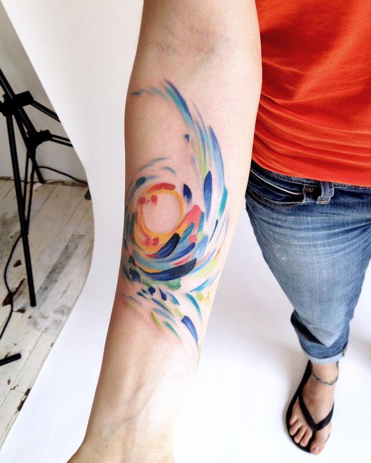Gorgeous ink by Amanda Wachob.