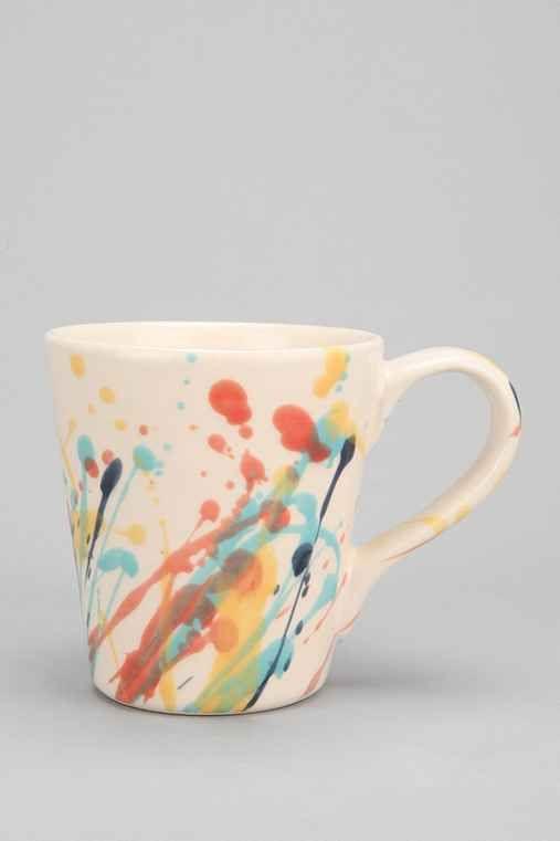 Magical Thinking Splatter Paint Mug