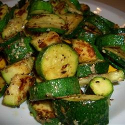 Sesame Parmesan Zucchini. I love anything roasted. This is a great way to use up all those fresh zucchinis from the garden in the summer!
