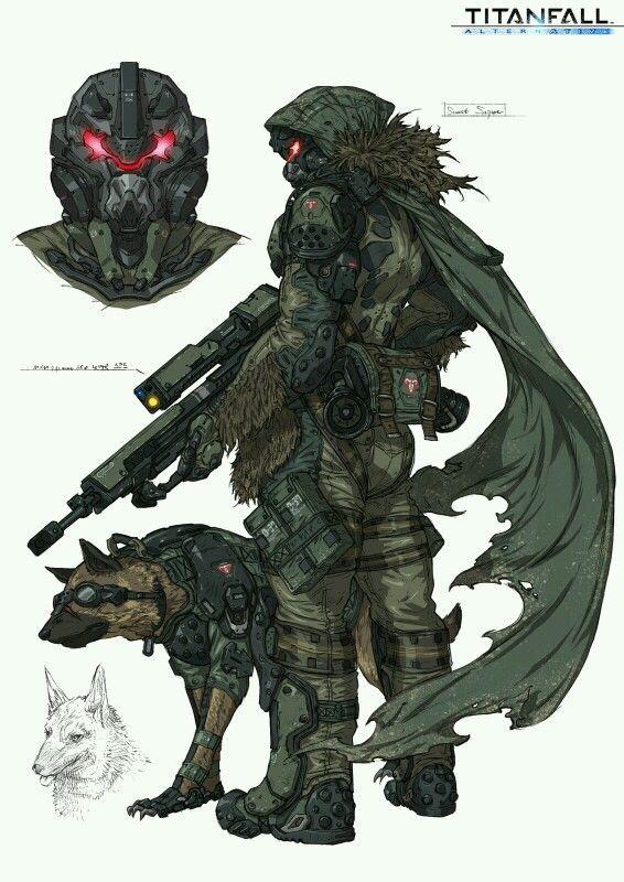 Titan fall arternative Recon and a Guard Dog