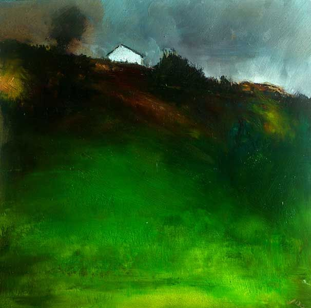 The Cottage, John O'Grady 2013, www.johnogradypaintings.com - landscape painting