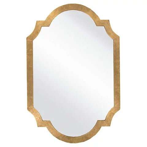 "$349 - One King's Lane - 30""x45"" Moroccan Mirror, Gold"