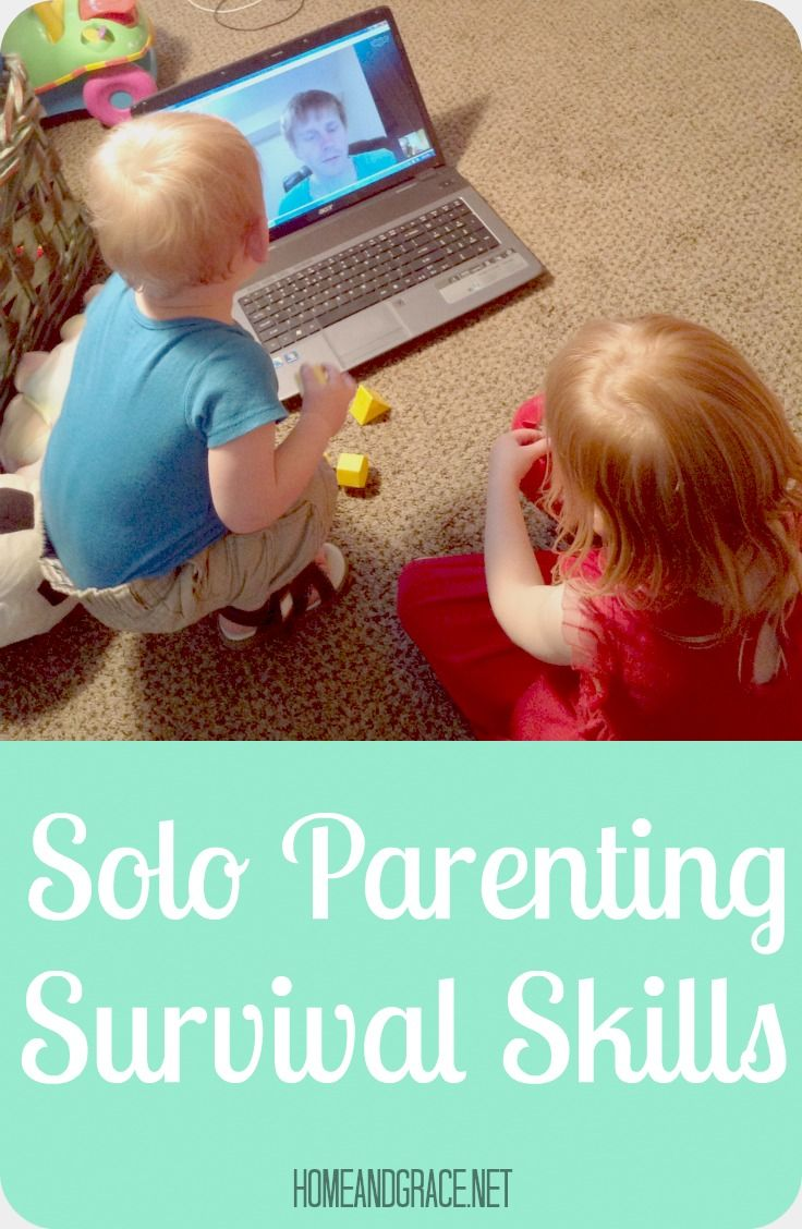 5 tips for surviving solo parenting!