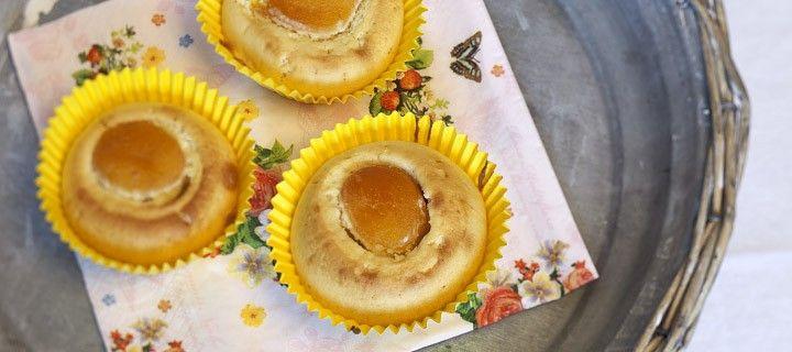Muffins met abrikoos