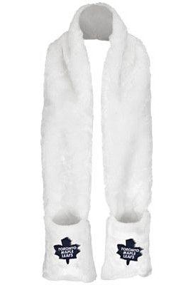 G-III Toronto Maple Leafs Womens Faux Fur Long Scarf with Pockets - Shop.Canada.NHL.com