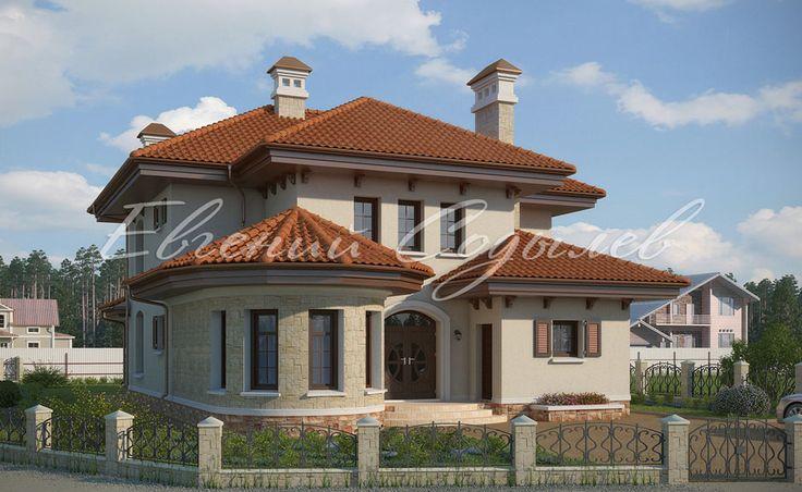 Проект дома в поселке Маленькая Италия фото-1   Мастерская Евгения Содылева