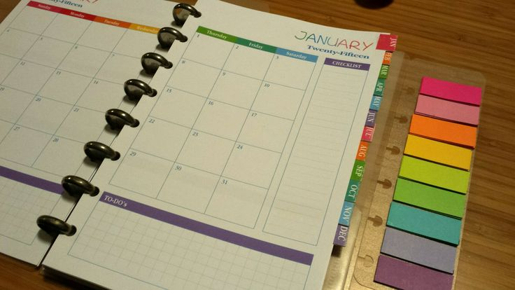 Pretty pretty planner junior free!! Perfect layout