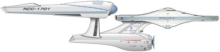 USS ENTERPRISE, from Star Trek 2009