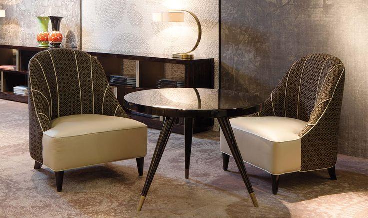 Andrea The Table and Ida Small Armchair - designed by Domenico Mula