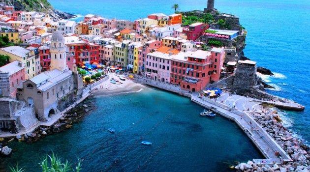 Cinque Terre, Kota Berwarna-warni di Utara Italia