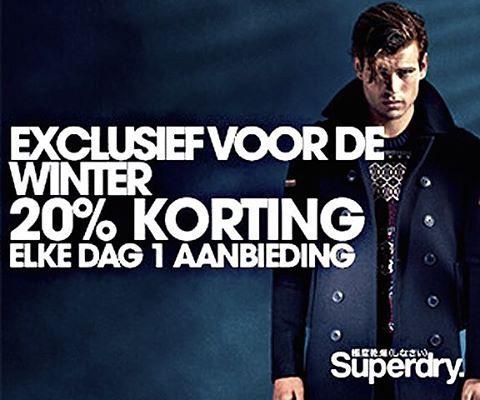 Met deurtje tien kun je lekker shoppen bij @superdrynl, want je krijgt 20% korting op geselecteerde tops!  Ga naar GoedeKortingscodes.nl en bespaar. #adventskalender #korting #Kerst