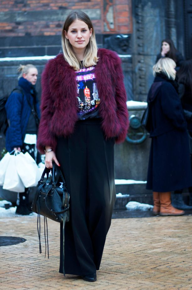 julieblichfeld - Copenhagen fashion week street style AW14 by Hybridablog