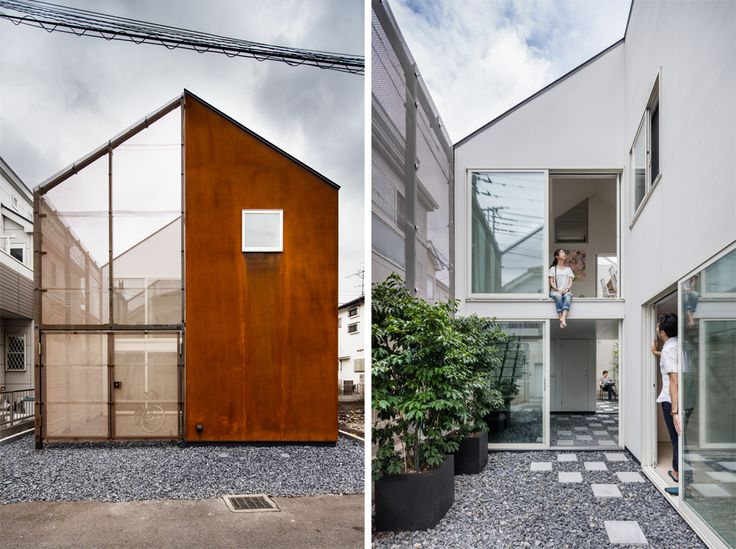 時の流れる家 【多世帯住宅、東京】