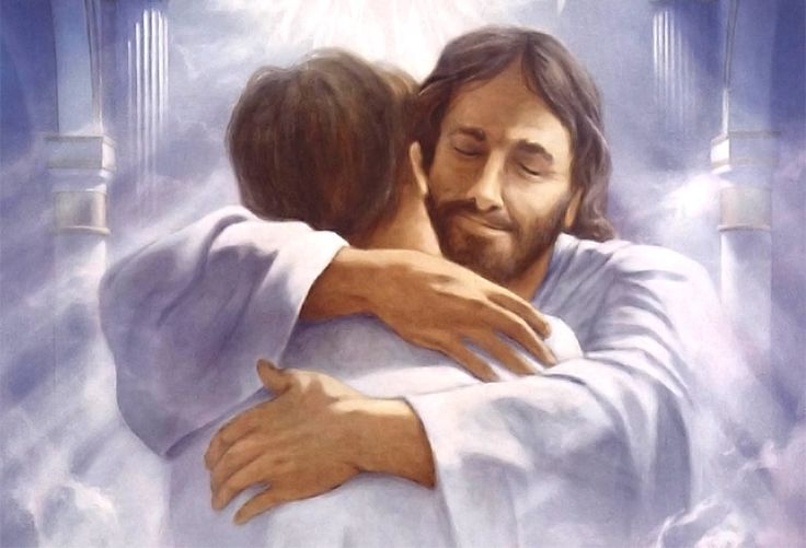 painting picture image jesus christ love