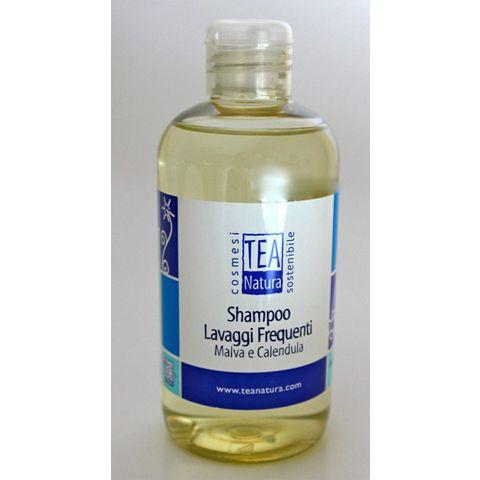 Shampoo lavaggi frequenti con Malva e Calendula. La delicatezza.