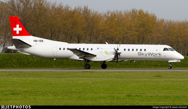 Photo of HB-IZB - Saab 2000 - Sky Work Airlines