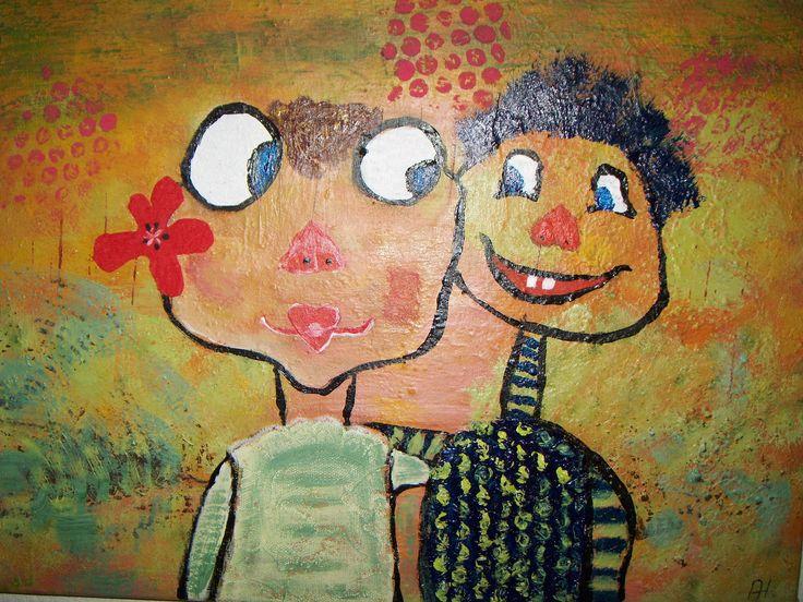 Akrylmaleri 30 x40