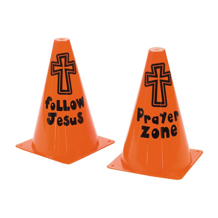 Inspirational Traffic Cones - OrientalTrading.com